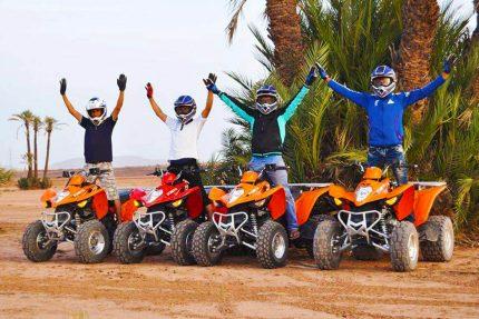Marrakech Quad biking in Palm Grove
