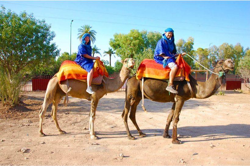 Marrakech Camel Ride (2)