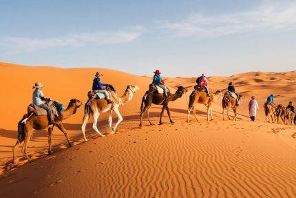 Private Marrakech to Fes Desert Tour